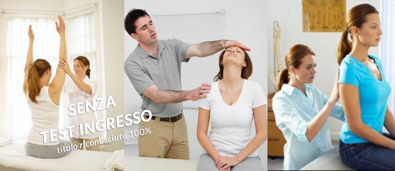 Scuola di fisioterapia laurea fisioterapia senza test d for Test fisioterapia